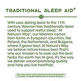 Nature's Way Valerian; 1,590 mg Valerian Root per