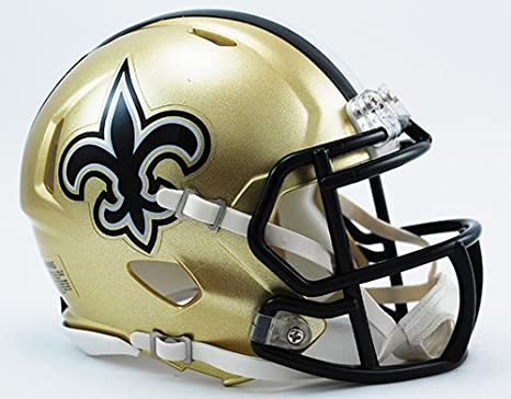 e2d8bd90 New Orleans Saints Riddell Speed Mini Football Helmet - New in Riddell Box