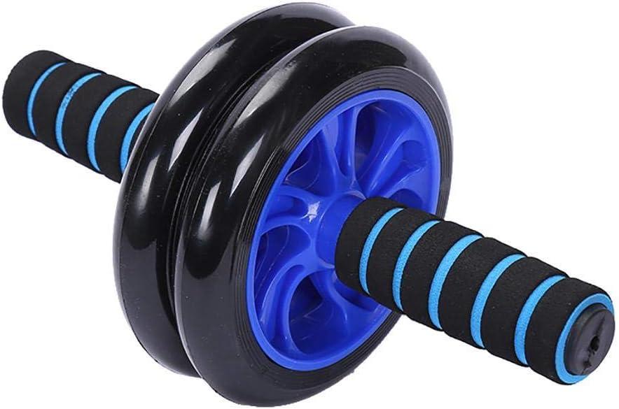 Bauchmuskeltrainer Mute Fitness Wheel Tool Trainingsger/äte mit Anti-Rutsch-Griff f/ür das Kerntraining Heimtraining Pagacat Dual Ab Roller Wheel