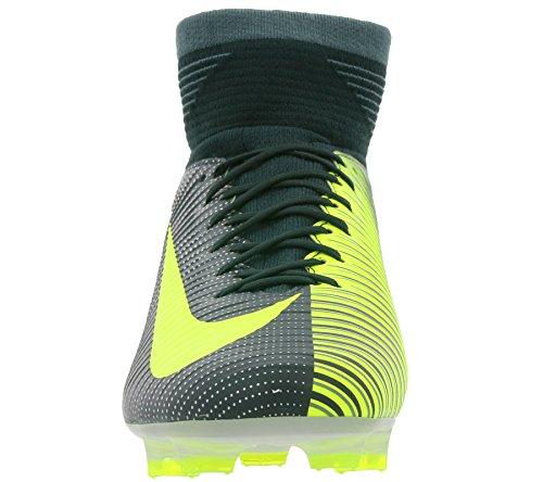 Nike 852518-376, Botas de Fútbol para Hombre Verde (Seaweed / Volt-Hasta-White)
