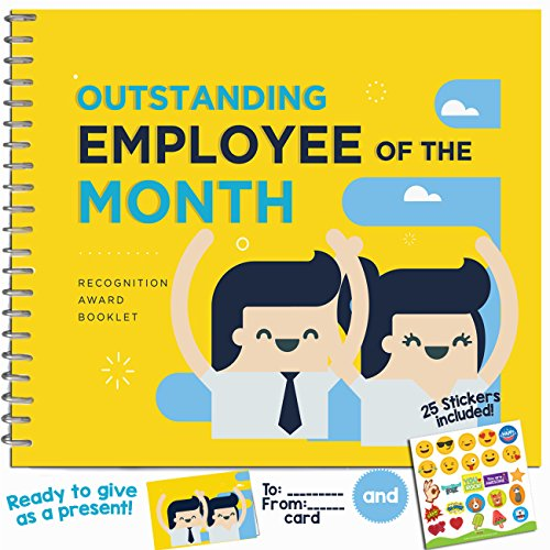 Outstanding Employee of the Month Recognition Award Booklet ()
