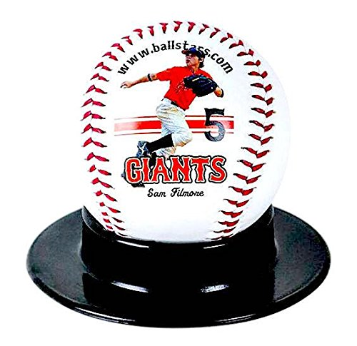Custom Personalized Baseball - Ships in 3 Business Days, High Resolution Photos, Logos & Text on Baseball Balls - for Players, Trophies, MVP Awards, Coaches, Personalized Gifts