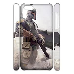 Newest Diy Star Wars Warrior Apple Iphone 5/5s 3D Cover Case