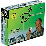 P3 Almost Golf Practice Ball 10 Pack
