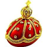 "Objet D'Art Release #294 ""Alexander III Emperor Of Russia"" Faberge Styled Egg Handmade Jeweled Enameled Metal Trinket Box"