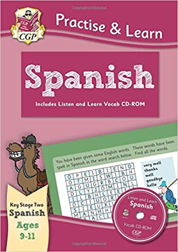 Epub Gratis Practise & Learn Activity Books With Vocab Cd-rom: Spanish Ages 9-11