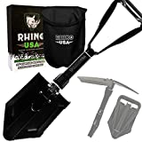 Best Camping Shovels - Rhino USA Folding Survival Shovel - Best Entrenching Review
