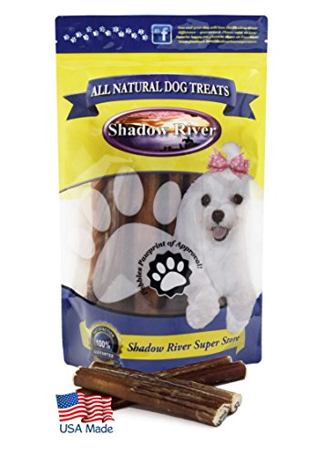 Cheap Shadow River 25 Pack 6 Inch Thick All Natural Beef Bully Sticks for Dogs