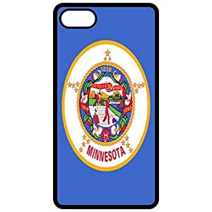 Minnesota MN State Flag - Black Apple Iphone 5c Cell Phone Case - Cover