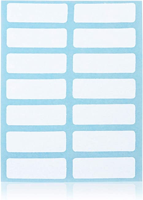 Adamas-Beta 168 Pieces File Folder Labels Name Filing Envelopes Label Stickers Size 13/×38mm//0.51x2.28inch