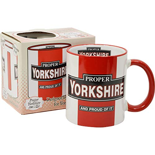 Proper Yorkshire Gift Boxed Mug Perfect for The Yorkshire Lad