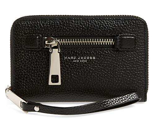 Marc Jacobs Gotham Zip Phone Wristlet, Black