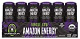 amazon acai - Sambazon Amazon Energy Drink, Jungle Love Passion Fruit & Acai Berry, 12 Ounce (Pack of 24)