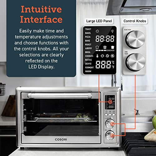 COSORI CO130-AO Air Fryer Toaster Oven image 3