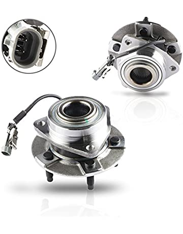 MOSTPLUS Wheel Bearing Hub Front Wheel Hub and Bearing Assembly for Equinox Torrent Vue Left &