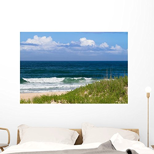 Day Beach Wall Mural By Wallmonkeys Peel And Stick Graphic  48 In W X 32 In H  Wm361773