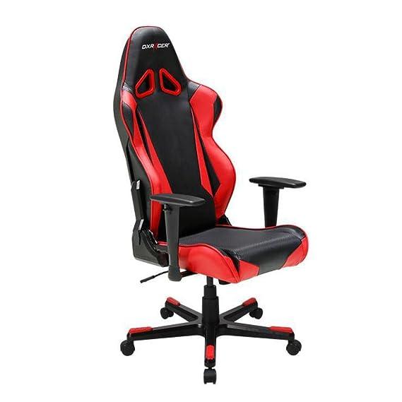 Amazon.com: DXRacer OH/RB1/NR Black U0026 Red Racing Series Gaming Chair:  Kitchen U0026 Dining