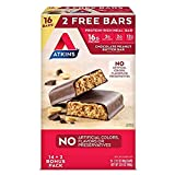 Atkins Protein-Rich Meal Bar, (16ct Chocolate Peanut Butter, 2.12 Ounce (16 Count))