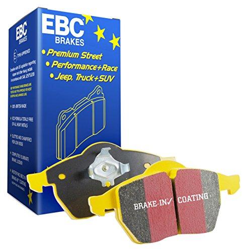 EBC Brakes DP41193R Yellowstuff Street And Track Brake Pads 2002 Ebc Yellowstuff Pads