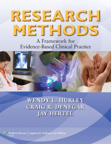 Research Methods: A Framework for Evidence-Based Clinical Practice