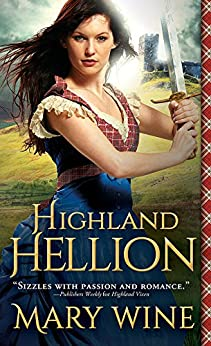 Highland Hellion (Highland Weddings Book 3) by [Wine, Mary]