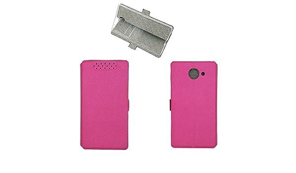 QiongniAN Funda para Elephone S8 Funda Carcasa Case Funda Pink ...