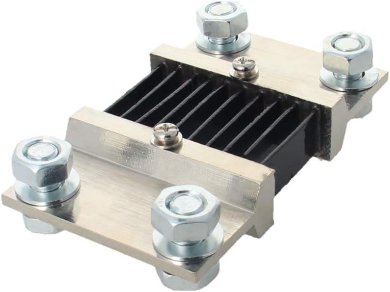 Fielect 1Pcs DC Current Meter Shunt Resistor Resistance for DC Ammeter 115 x 17mm FL-2 250A
