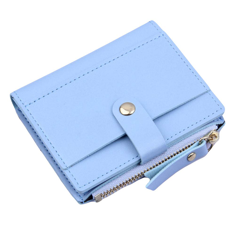 Evening Bags, Women Wallet Lovely Candy Color Small Coin Zipper Purse Card Package