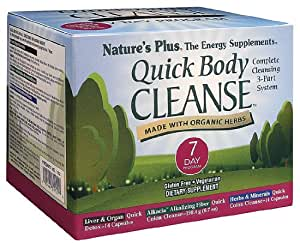 Nature's Plus - Quick Body Cleanse 7 Day Program - 1 Kit