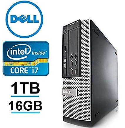 Dell Optiplex 990 Desktop SFF- Intel i7 3 1GHz , 1TB HDD, 16GB DDR3,  Windows 7 Professional 64-bit (Renewed)