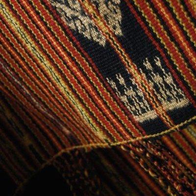インドネシアの絣織 ティモール島のイカット タペストリー飾り布 【アジアン】 B00CFYNU7E