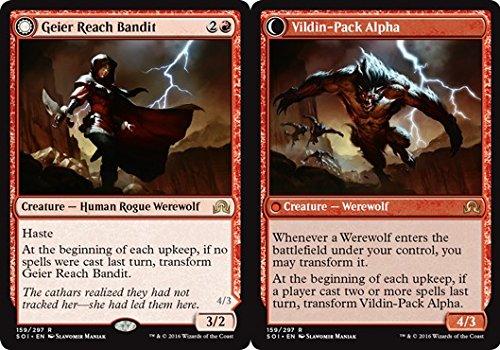 Magic: the Gathering - Geier Reach Bandit // Vildin- Pack Alpha (159/297) - Shadows Over (Bandit Pack)