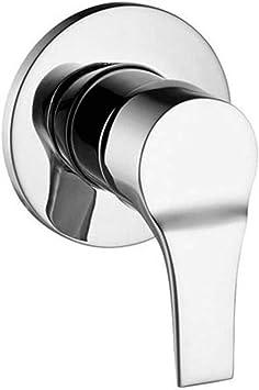 Zucchetti monomando empotrar ducha serie Flat cromo