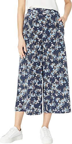 - Juicy Couture Women's Bouquet Floral Wide Leg Pants Regal Aster Fields 6 23
