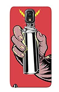 395903a2656 Tpu Phone Case With Fashionable Look For Galaxy Note 3 - Spray Can Case For Christmas Day's Gift
