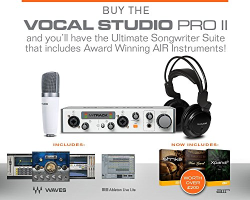 Maudio Vocal Studio Pro Mk Ii Plete Recording Featuring Waves Rhamazonin: M Audio Vocal Studio At Gmaili.net