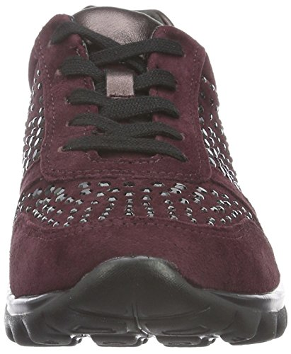 Rollingsoft Merlot New Rosso Sneakers Shoes 48 Donna Gabor 7BqZSwx