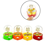 Anniston Kids Toys, Mini Basketball Shooting Game Finger Sports Table Play Kids Children Toy Gift Puzzles Magic Cubes for Baby Children Toddlers Boys & Girls, Random Color
