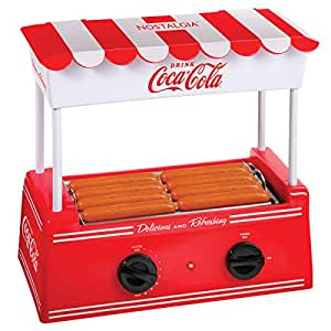 Amazon.com: Nostalgia HDR8CK Coca-Cola Roller Warmer 8 Hot ...