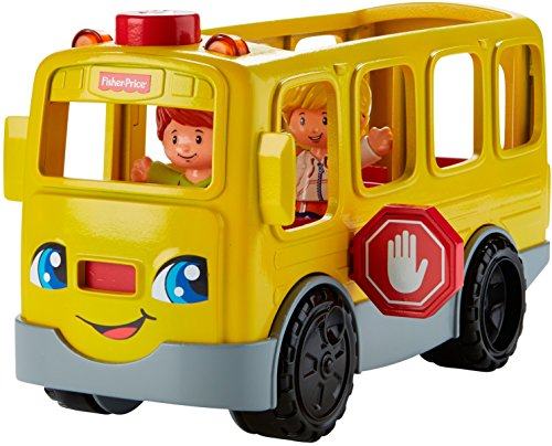 Fisher-Price Little People Sit with Me School Bus Vehicle]()