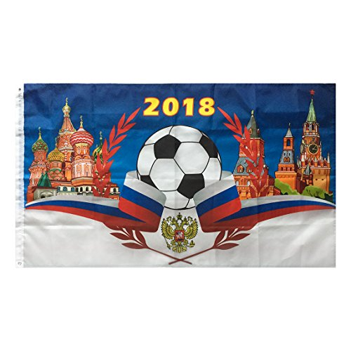 WOWMAR 2018 World Cup Flag Russia Soccer Football Fla