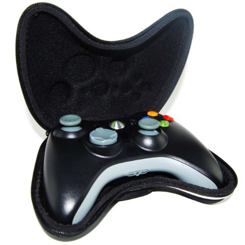 Black Airform Pouch Pouch Case Bag For Xbox 360 Controller Gamepad+ Wrist Strap Soleil