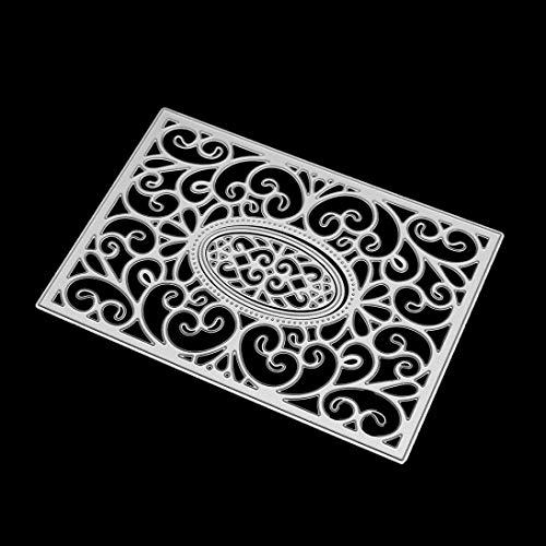 Fabal Frame Metal Cutting Dies DIY Album Scrapbook Card Bookmark Decor Tools Cutting Dies for Scrapbooking (C) by Fabal (Image #2)