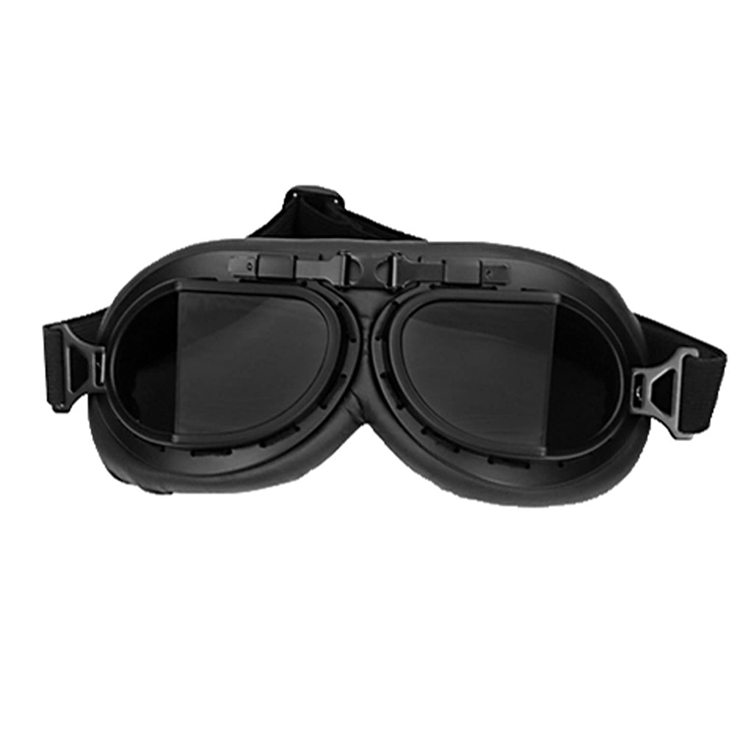 xcoser MAD-Max Nux Goggles Vintage Anti-Dust Motorcycle Glasses Adjustable Strap