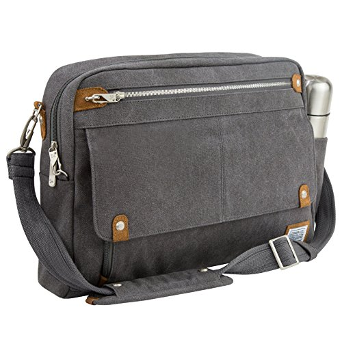 Travelon Anti-theft Heritage Briefcase Messenger Bag
