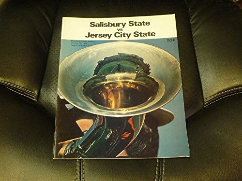 1975 JERSEY CITY STATE (NJ) AT SALISBURY STATE (MD) COLLEGE FOOTBALL PROGRAM -