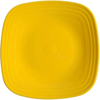 product image for Homer Laughlin Fiesta Square Dinner Plate, Daffodil