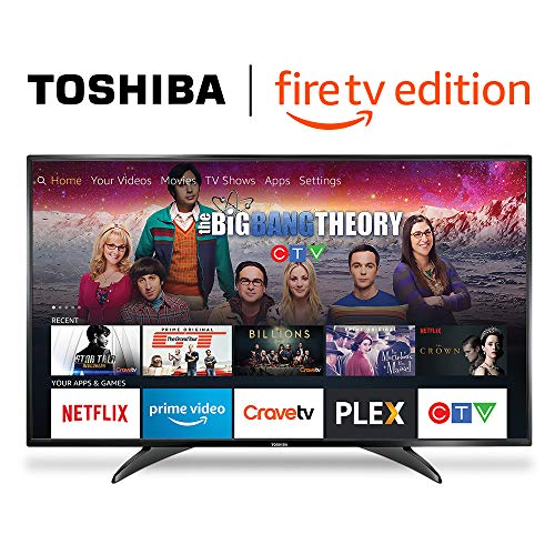 Toshiba 49LF421C19 49-inch 1080p HD Smart LED TV - Fire TV Edition