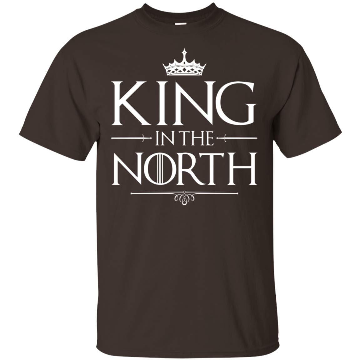 Baby Girls Boys King in The North T-Shirt