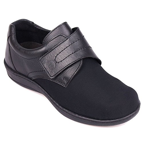 Over Walford Womens Black Sandpiper Shoes Strap 7Ygwwz